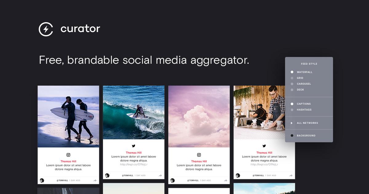 The Best Social Media Aggregators for 2018 - Curator